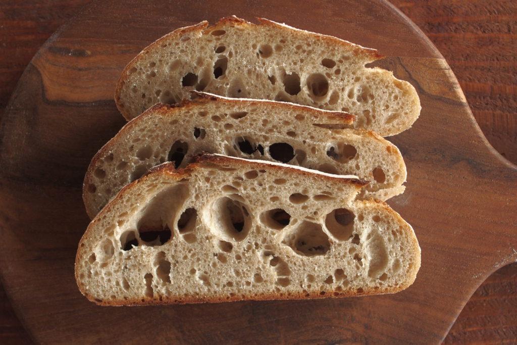 サワードウで作るライ麦パン
