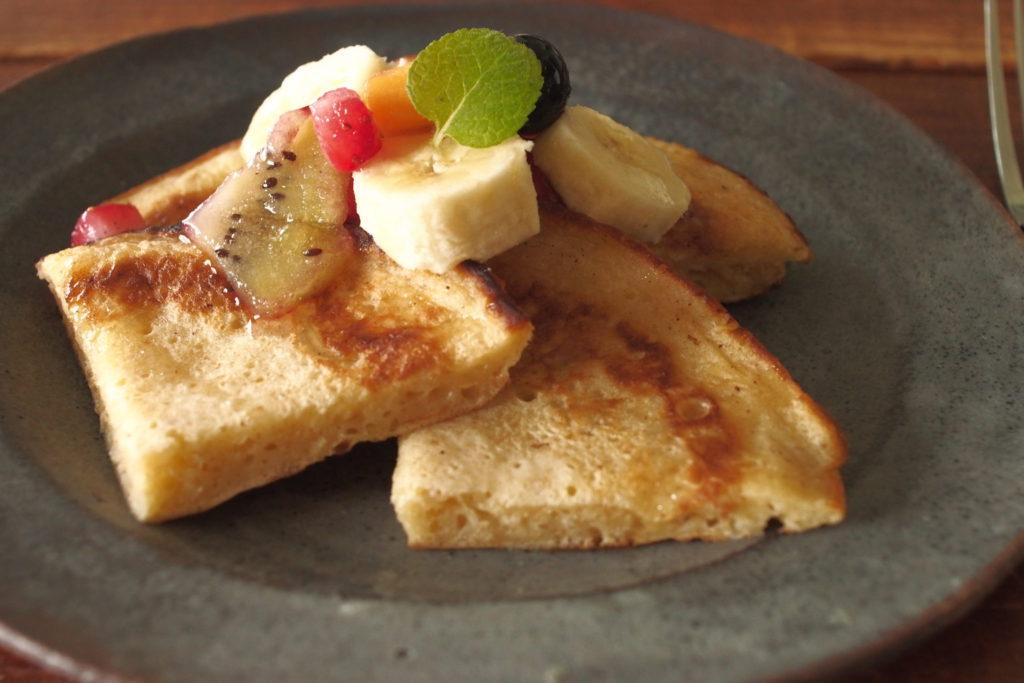 サワードウで作るパンケーキ